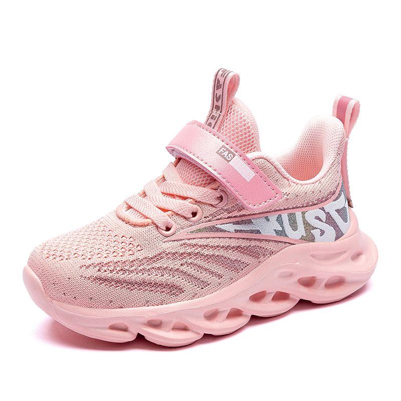 Tenis Çocuk Spor Sneakers Nefes Infantil Boys Basket Düz Kızlar Chaussure Enfant İlkbahar Sonbahar Çocuk Ayakkabı Koşu