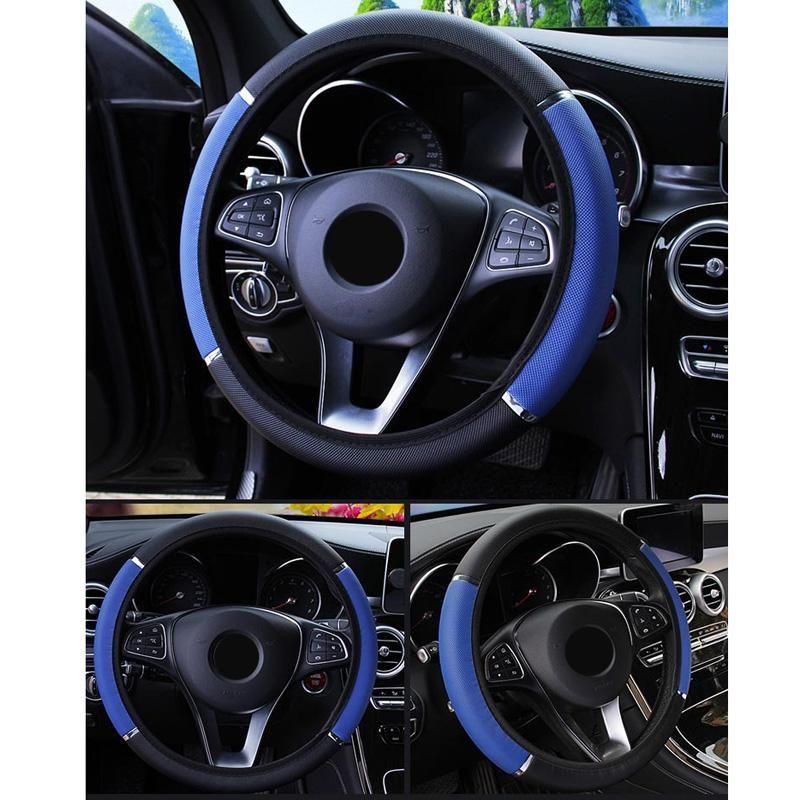 Protector de cubierta del volante interior 37-38cm Piezas de repuesto Accesorios Auto Interior