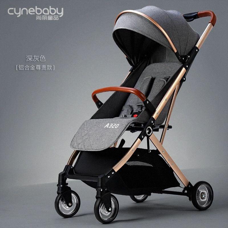 2020 poussettes ultra-léger et pliable pour s'asseoir ou se trouvent des parapluies pour bébés de mode haut de paysage peuvent être sur le plan Xe1d #