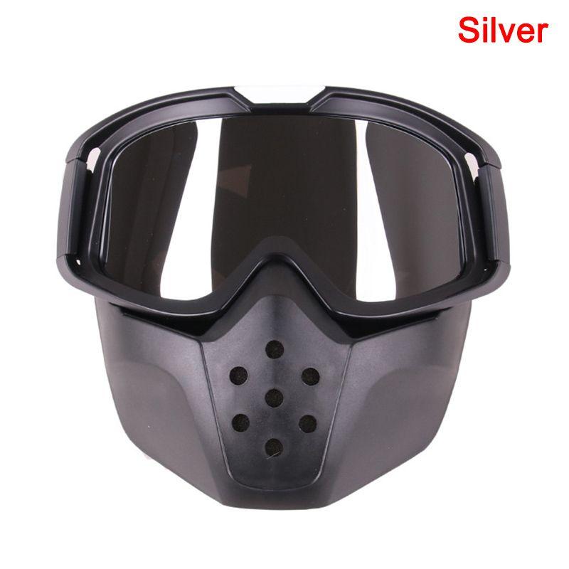 1 шт. Мотоцикл шлем Goggle Coggle старинные ветрозащитные защитные глаза для наружного J1224