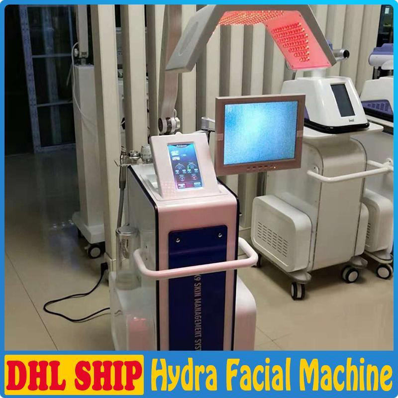 A Hydro Peel Água Hydrafacial dermoabrasão pele rejuvenescimento RF BIO PDT levou luz terapia Face Lift Ultrasonic Microdermoabrasão Facial