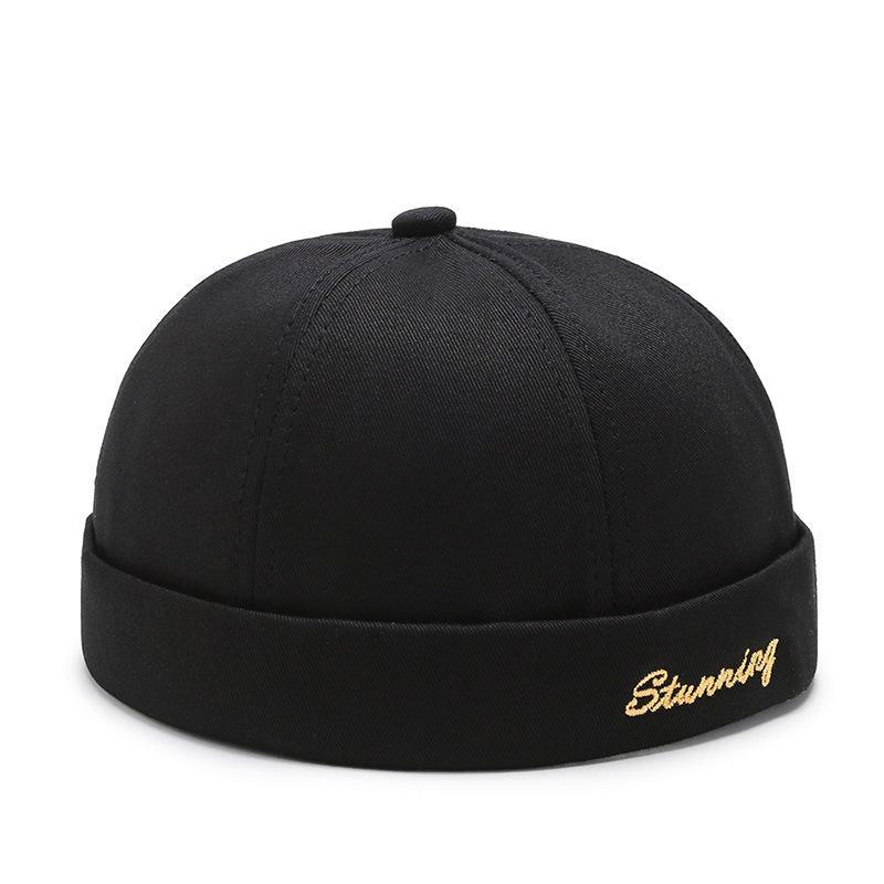 nuovi cappelli di marea della pelle melone primavera e l'estate casuali cappello padrone di casa di strada senza risvolto retrò uomini della protezione del luppolo e le donne capX1016 universali