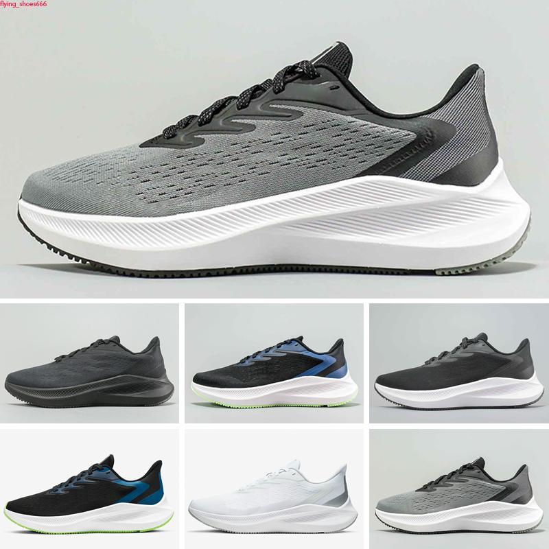 Zoom Pegasus Winflo V7 Koşu ayakkabıları erkekler için 2020 pegasus beyaz yarışçı mavi ışık duman gri siyah volt Üniversitesi kırmızı sneakers boyutu 40-45