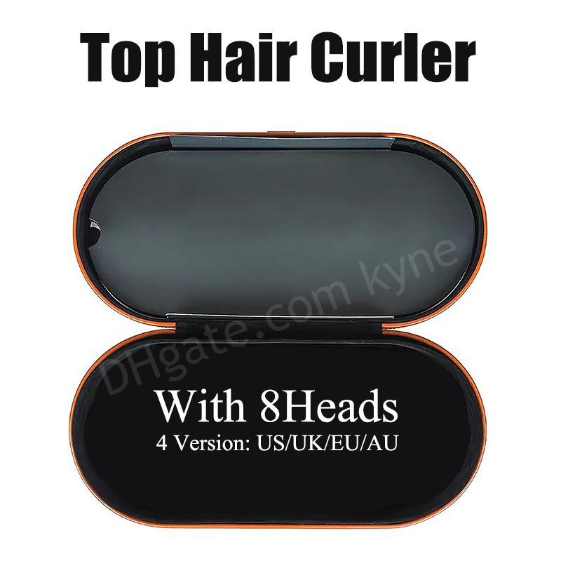 EU / 영국 / 미국 / AU 8HEADS 선물 상자와 머리카락 경기자 다기능 헤어 스타일링 장치 정상적인 머리를위한 자동 컬링 아이언 최고 품질