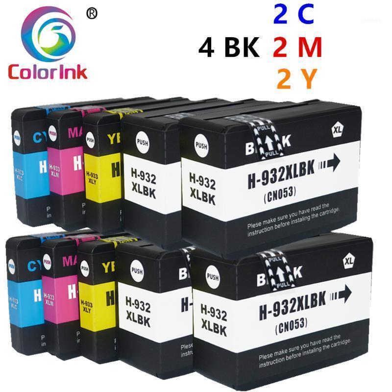 10pk 932 933 Tintenpatrone für 932 XL 933 XL für OfficeJet 6100 6600 6700 7110 7610 7612 7510 7512 Drucker Tintenpatrone1