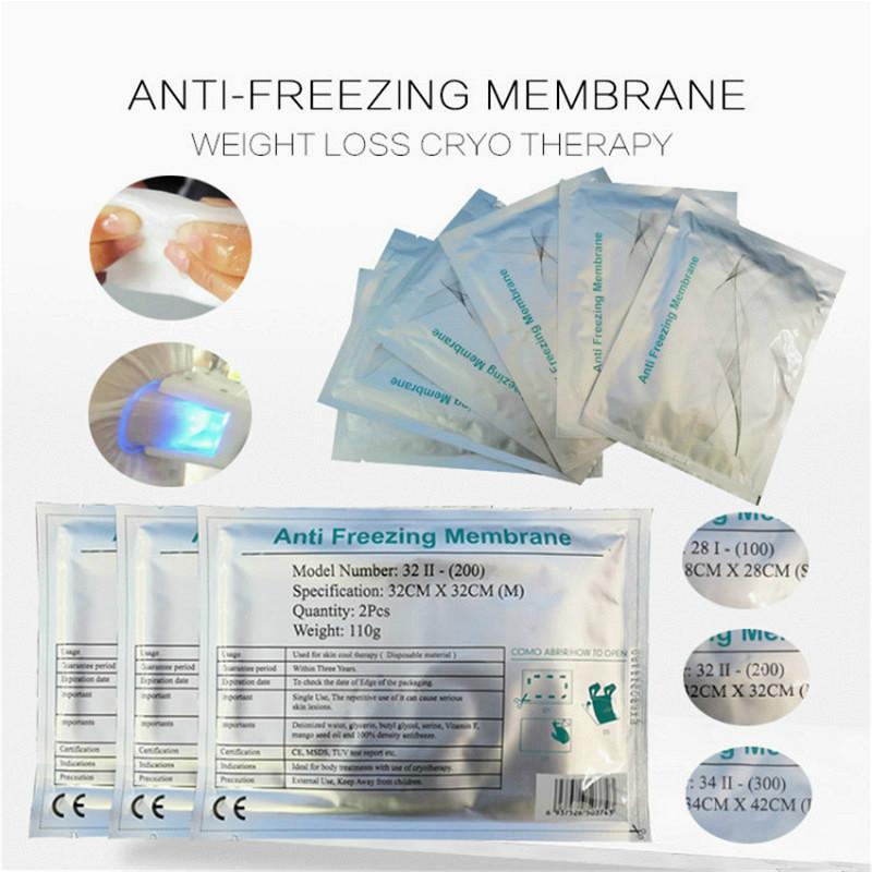 """""""Arrefecer crioterapia anticongelante Membrane Cryolipolysis Anti Congelar Pad Preço / Crio lipólise anticongelante de membrana para Fat Congelamento Machine"""""""