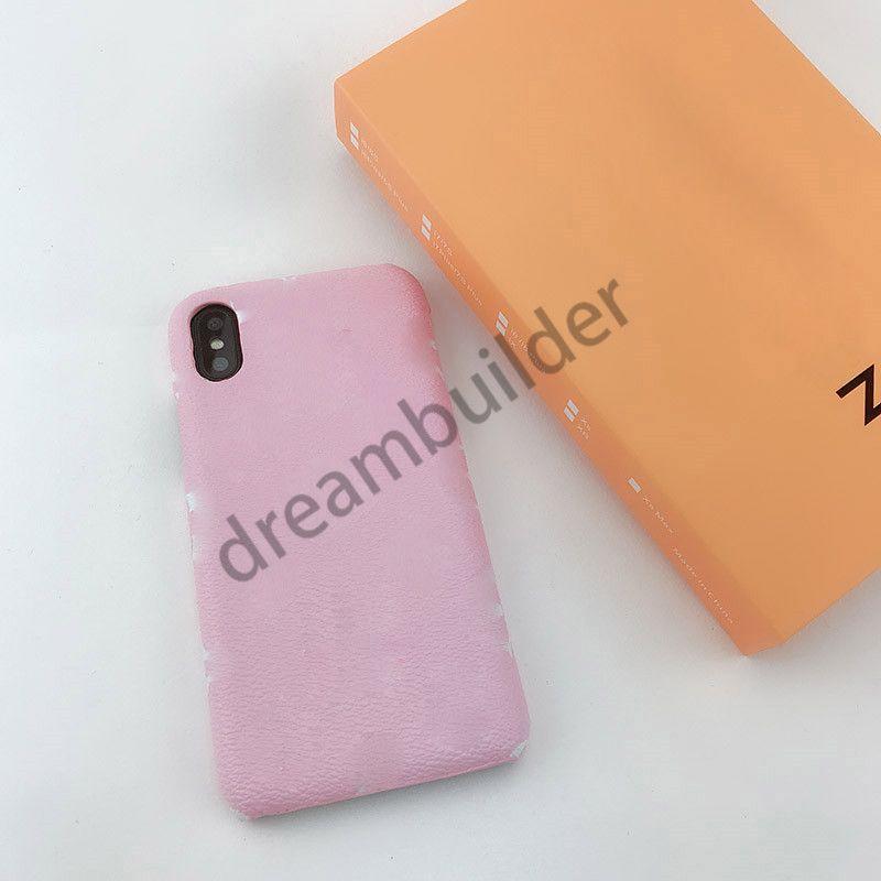 Coffrets de téléphone design de mode pour iPhone 12 Pro Max 12 mini 11 xr xs max 7/8 Plus de téléphone en cuir PU pour Samsung S8 S9 S10P Note 8 9 10P