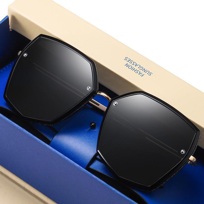 Top Qualität Polarisierte Sonnenbrille Frauen Designer Neue 2021 Trend Fahrer Sonnenbrille Für Frauen Vintage Reise Eyewear UV400 Shades W0105