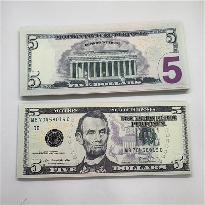 Goldmünze New Edition Münze Gedenkminen Unmarkierte USD Währung F25 Pirat Spiel 5 Fälschung SJLKN Paper Münze Requisiten Halloween Qleis
