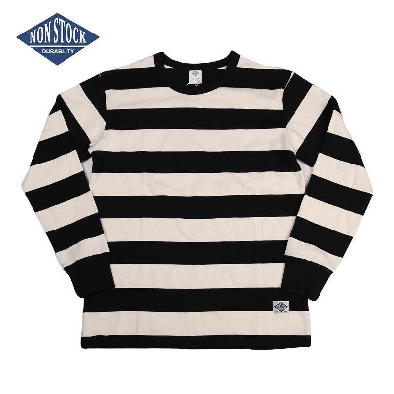 Stok olmayan Stok Cezaevi Çizgili Uzun Kollu Tee Gömlek Slim Fit Erkek Motosiklet T-shirt 201116