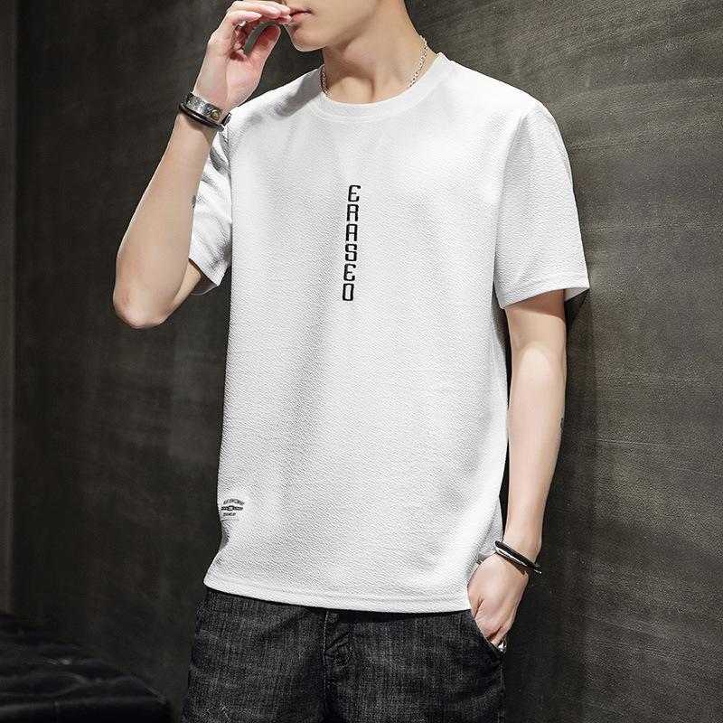 2020 New T Shirt Mens fashion cotton T-shirts Summer Tee male Boy Skate Tshirt Tops print workout shirts Short sleeve