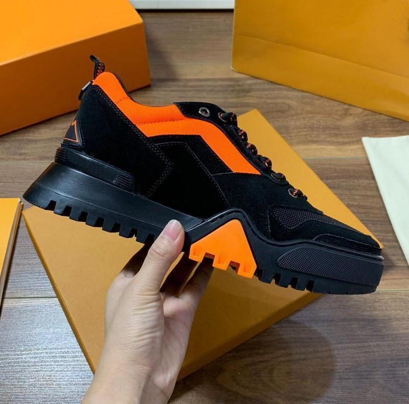Yeni gelenler erkek hakiki süet deri patchwork düşük üst marka platformu spor ayakkabısı, tasarımcı daireler moda sonbahar nedensel ayakkabı 38-45