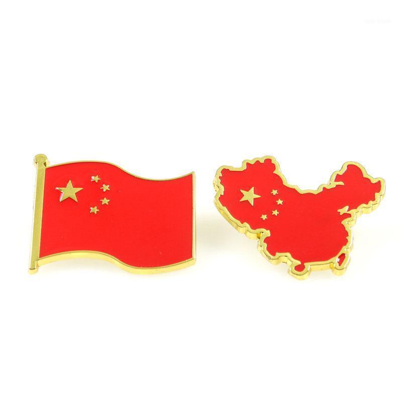 Nationalflagge der Volksrepublik China Pin Brosche Rucksack Taschen Abzeichen Kleidung Geschenk für Frauen Männer Modeschmuck1 qahed