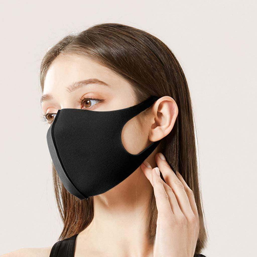 Pour les enfants anti-masque visage anti-brouillard pour masques Masque de soie de glace réutilisable anti-poussière anti-poussière lavable coton masques de poussière respirant antiadultes visage nvld