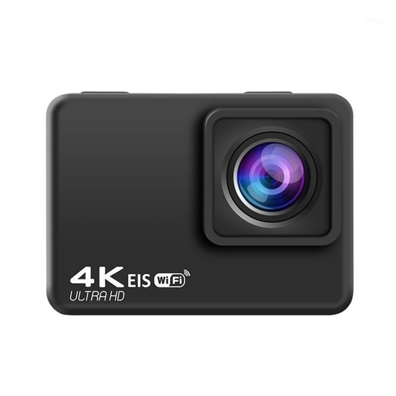الرياضة عمل كاميرات فيديو كاميرا فائقة HD 4K 2.0 بوصة LCD 30M تحت الماء خوذة للماء الرياضة مع يتصلي وملحقات 1