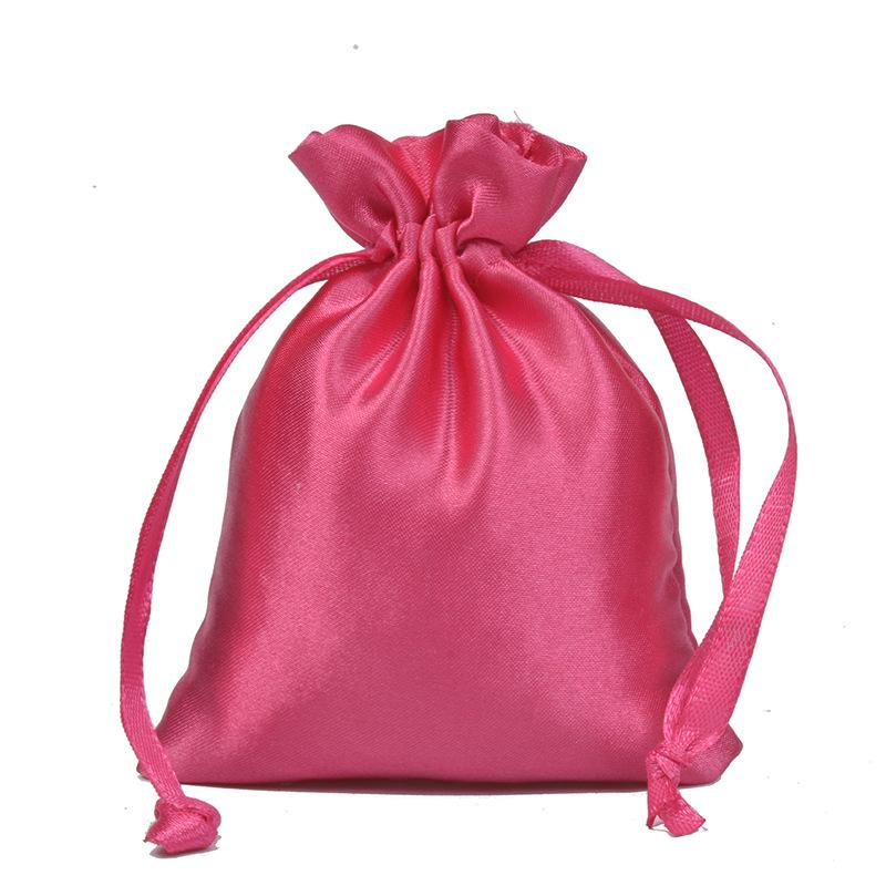 Colorful Bag Jewelry Storage Pocket Drawstring Woman Man Fashion Accesories Anti Lose Pouches Christmas Present 0 65lw K3