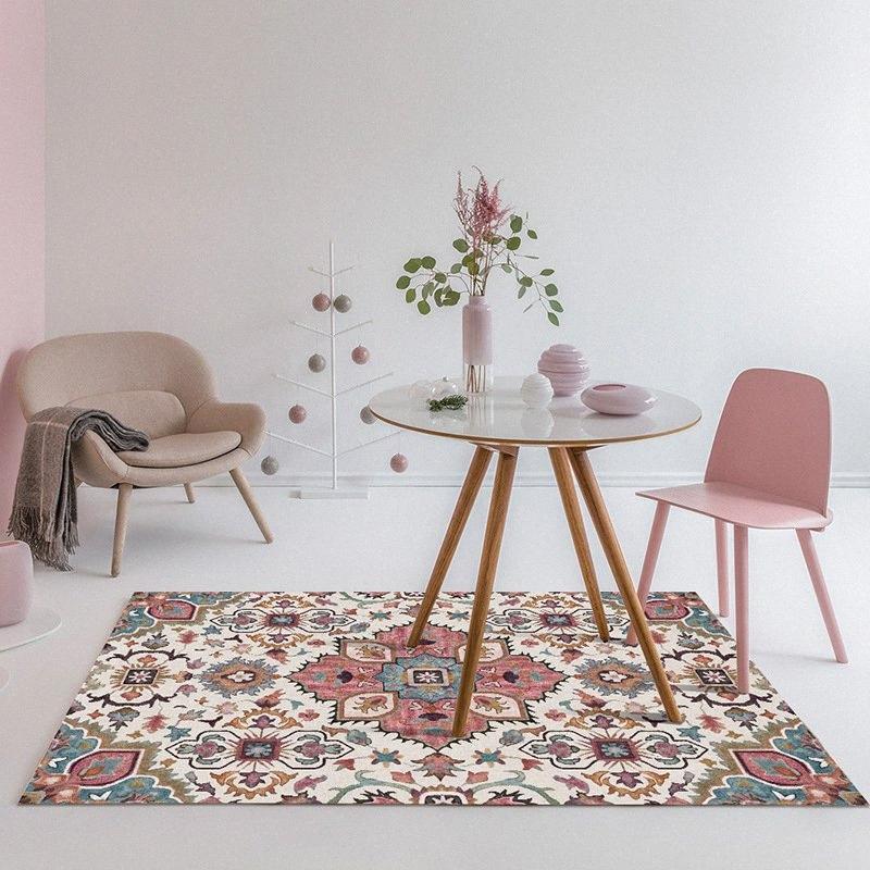 Blumenteppich Wohnzimmer Geometrische Europa Amerika Wohnkultur Ethnische Kleine Teppiche Bunte Schlafzimmer Fußabtreter Waschmaschine Mats qtiL #