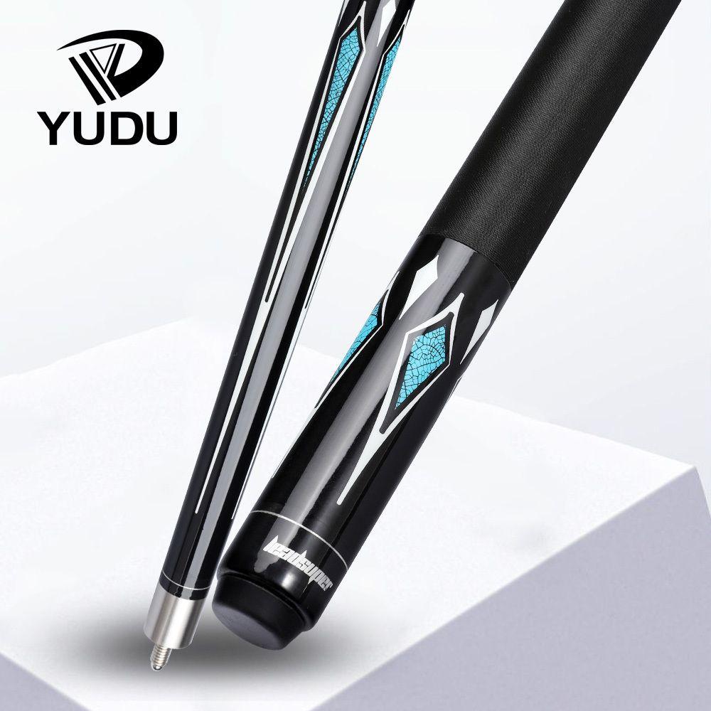 Les ventes en gros Yudu hw-1billiard piscine pointe queue 13mm kit racleur de bâton est adapté pour les débutants, il y a beaucoup de queues de cadeaux pas cher i