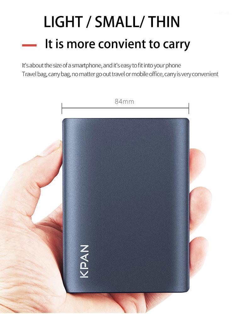 """KPAN USB3.0 Taşınabilir Metal Harici Sabit Disk Sürücüsü 500 GB 1 TB 2 TB Disko Duro Externo HDD 2.5 """"PC için HDD HDD Mac TV XBOX PS41"""