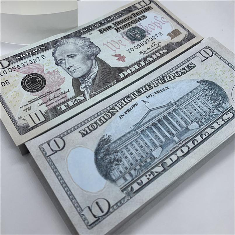 Currency Show Fast Gifts Real Delivery Copy Props US T31 Children Toys Paper Laivh Design Game Magic Money Party Ukwix