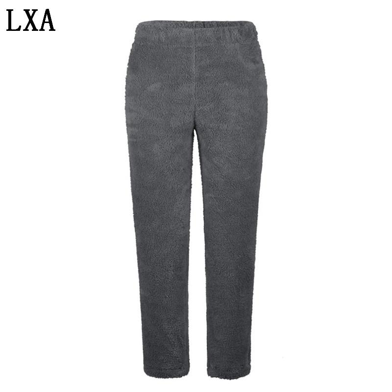 Nuovi Leggings Autunno Inverno Plus Leggings Velvet Donne Pantaloni termici in lana in pile Plus Size Donne Pantaloni invernali S-5XL N-08