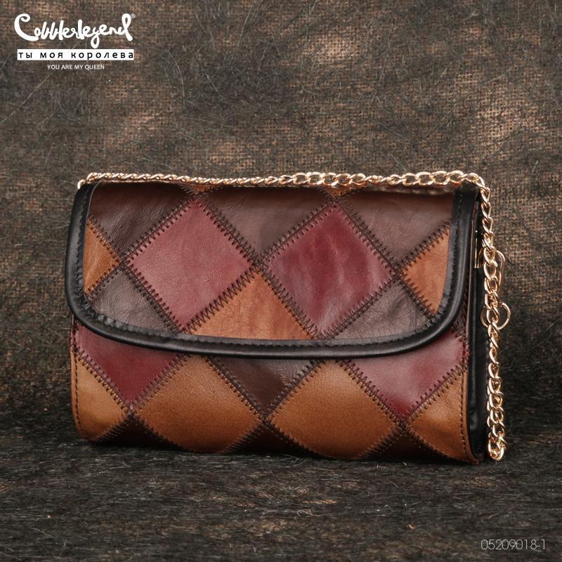 Cobbler Legende Echtes Leder Crossbody Tasche Frauen 2020 Neue Luxus Designer Handtasche Damen Vintage Quaste Einfache Top-Griff Taschen