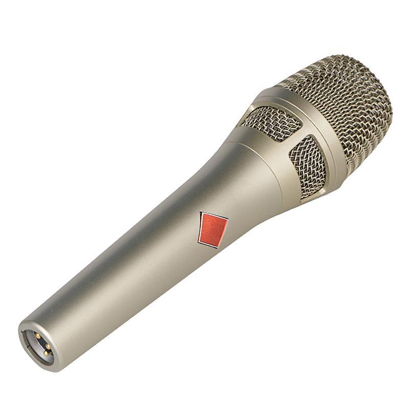 DM-105 Handheld Microphone, Network Mobile Phone K Song Anchor Live Shouting Microphone Recording Condenser Microphone
