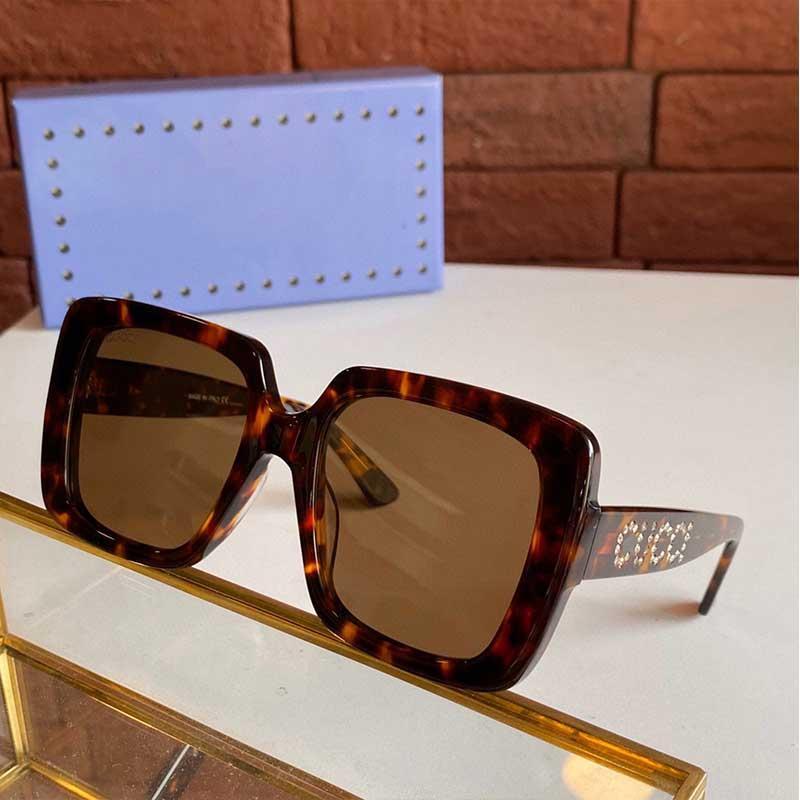 Женские дизайнеры Солнцезащитные очки или оптические очки 0148 Мужские дизайнеры Солнцезащитные очки 0418S мода квадратная рамка высокого качества ретро стиль