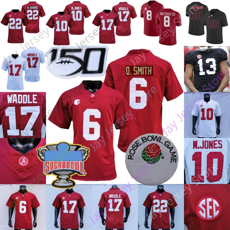 Alabama Crimson Tide Football Jersey NCAA College Tua Tagovailoa Jerry Jeudy Brian Robinson Jr. Alex Feelwood Josh Jooms Christian Harris