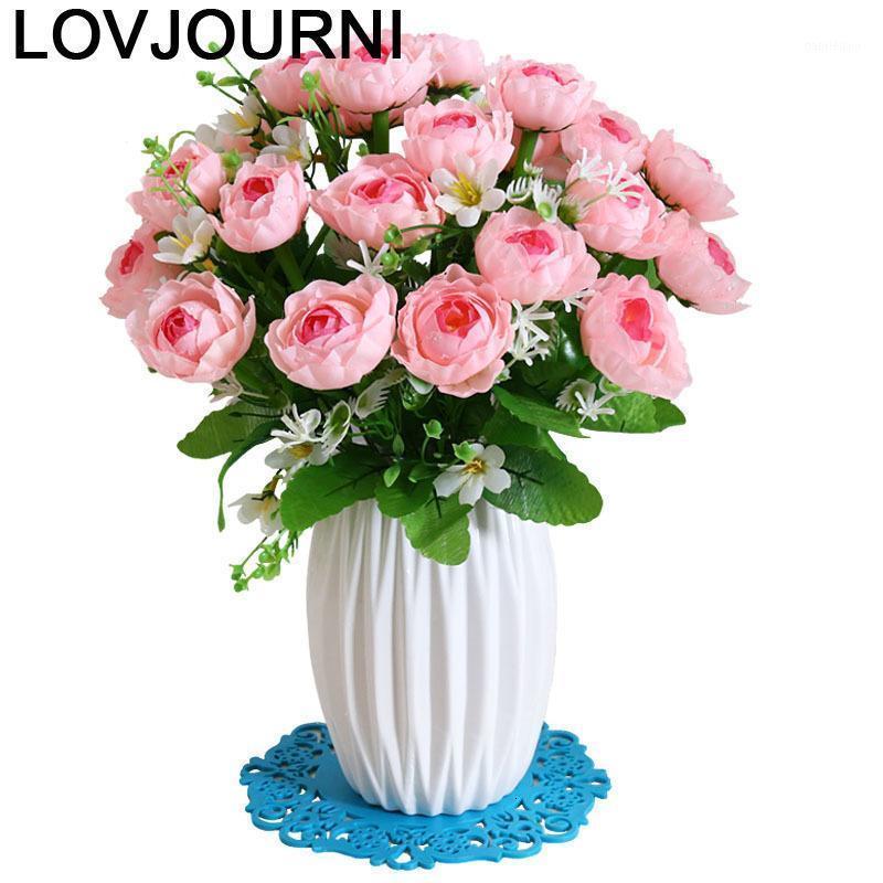 Für Hochzeit Vazo cam fanus wazon na kwiaty teraryum jarrones decorativos moderno dekoration zubehör moderne blume vase1