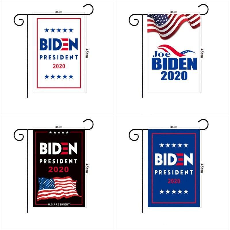 2020 Vereinigte Staaten Eagle-Flagge Joe Biden Präsident Candidate Flagge Amerika Im Freien Garten Rectangle Banner 30 * 45cm 5xx G2