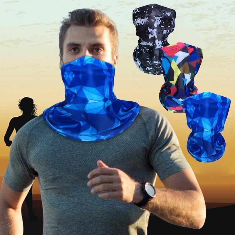 Adulto deportes al aire libre Máscara de cara completa Hombres Turbantes de mujer Bufanda Tubo de cuello Bandana Magic Turban Motorcycle Midsking Affermeet Mask1