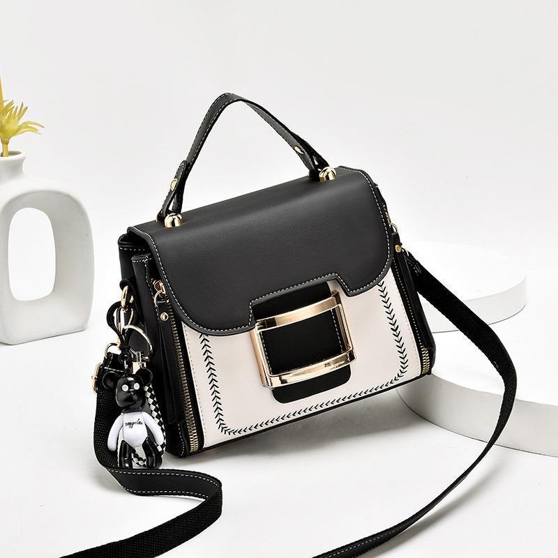 Маленькие женские кожаные сумки сумки для дамской квадратной роскошной девушки и 2021 Femme PU сумки кошельков SAC VHRNV Messenger TJTRB