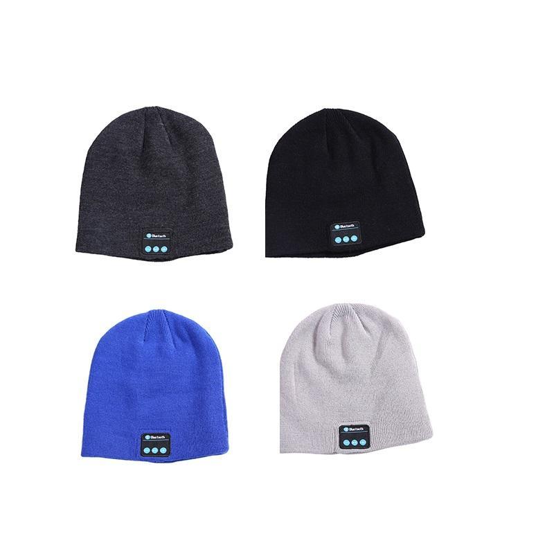 Наушники Музыка шляпа умные шапки беспроводной Bluetooth гарнитура теплые шапочки зимние шляпы спортивные наушники для звонков телефонов