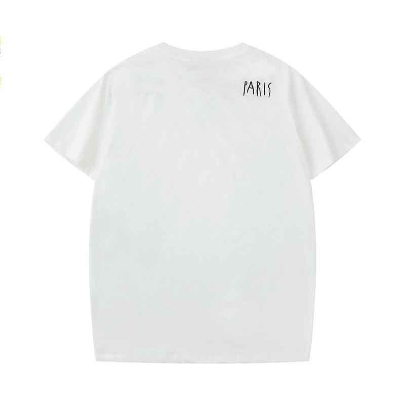 2019 Рубашки для T Летние Тройники Мужчины Топы Роскошные Письмо Вышивка футболка Мужские Женщины Короткие Дизайнерские Мужские Мужские Футболка Одежда TRRSX