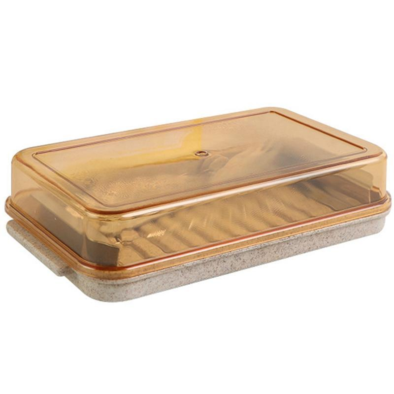 Butter Cutter Container Iron Plate Tableware Butter Cheese Fresh Box for Cutting and Storage Kitchen Accessories