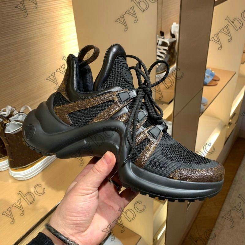 Arclight Sneaker Luxurys Designers Womens Sneakers Treinadores Altura Aumentar Mens Paizinho Mostrar Designer Sapatos Casuais