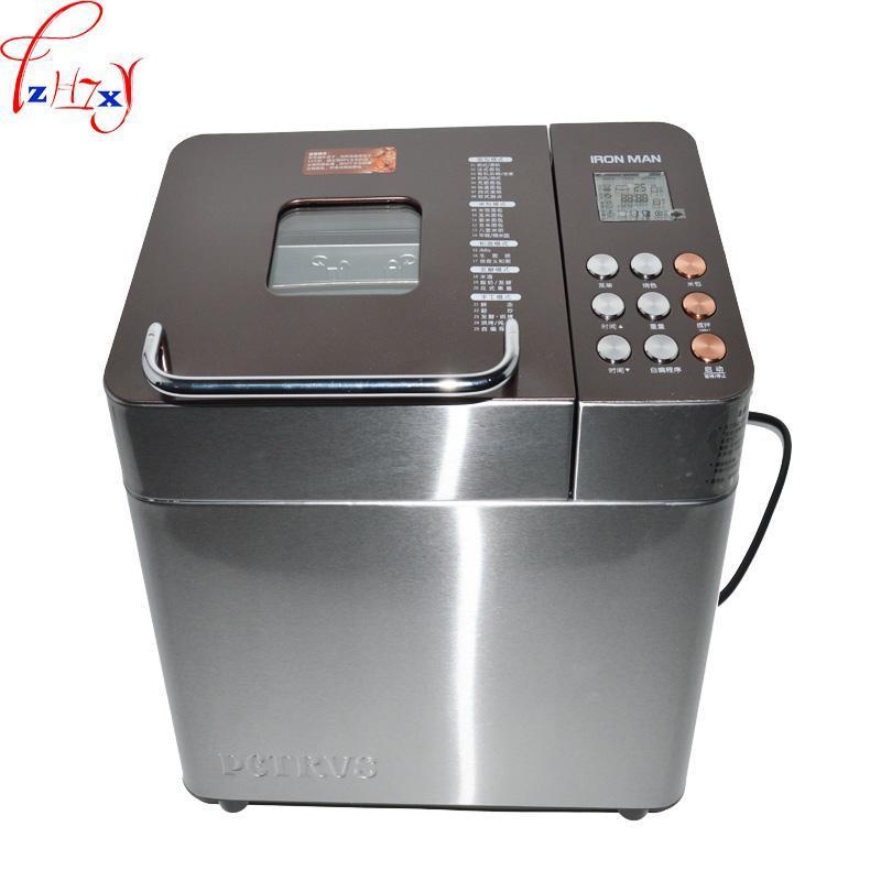 Бытовой Полностью автоматический хлеб машин с двойной трубкой выпечки пункта меню ИНТЕЛЛЕКТА 25 Функции мороженого