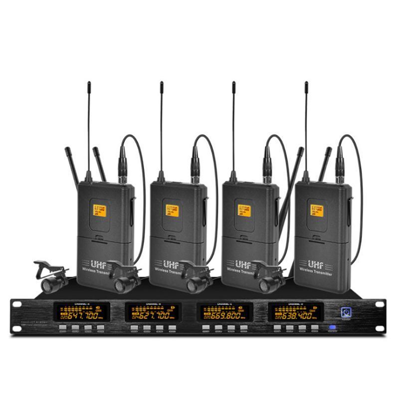 Kilise okul açık konuşma Sahne performansı kulaklık mikrofon kablosuz için profesyonel UHF kablosuz mikrofon sistemi