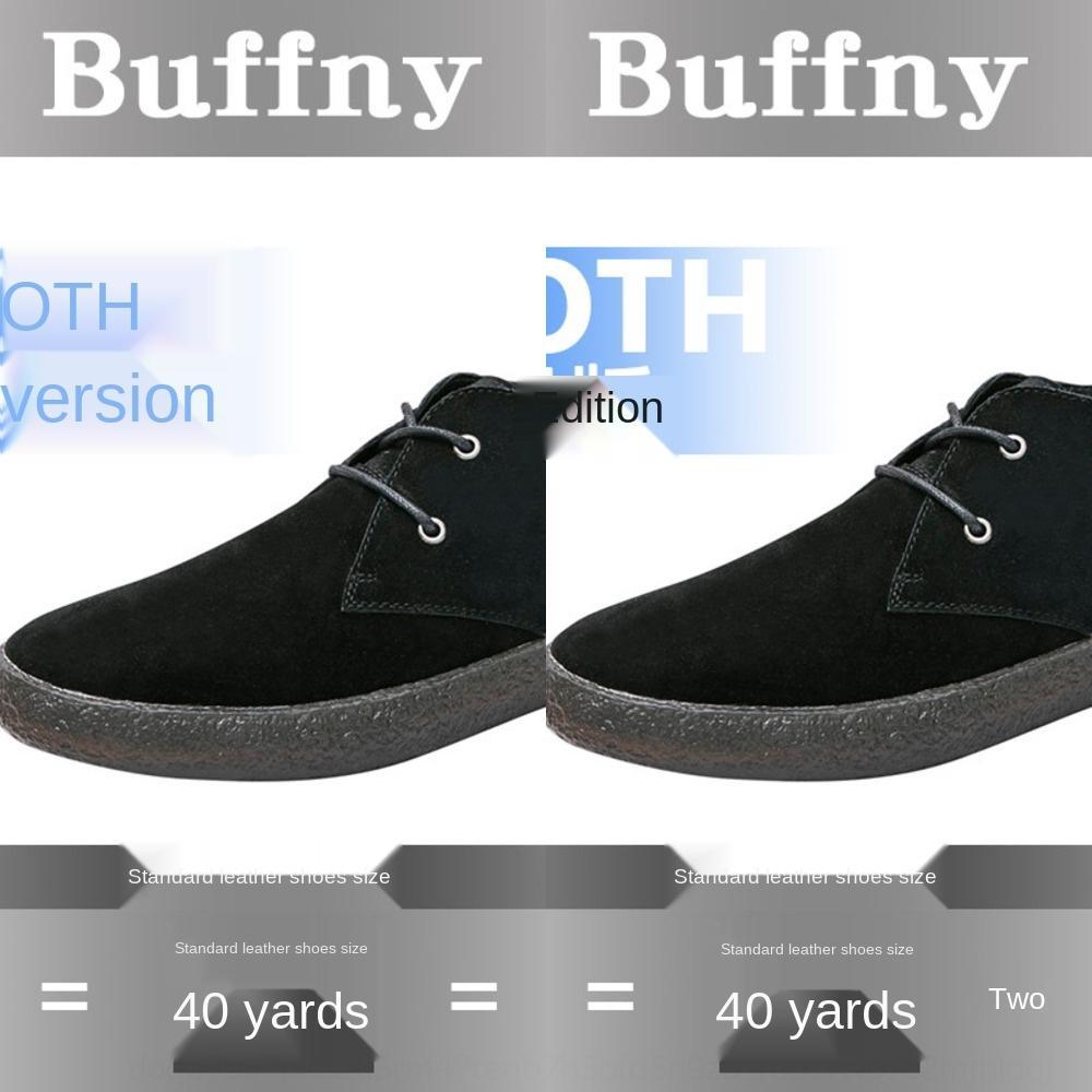 7TVZZ Buffny sonbahar ve kış rahat erkek ayakkabıları Kore moda düz soled deri ayakkabı tembel peopl koymak için çok yönlü ve rahat