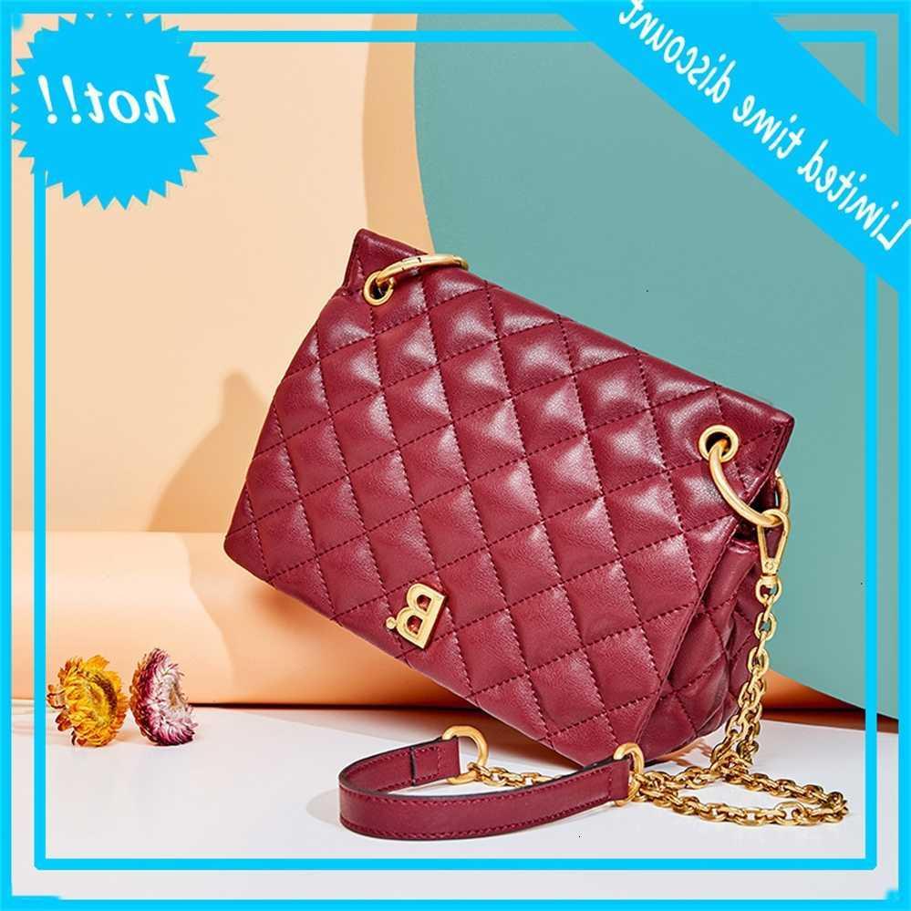 2020 новый Crossbody кожаная мода женская тенденция алмазная сумка