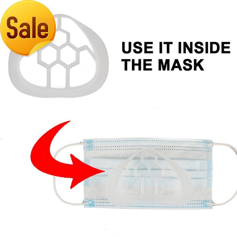 Ayrı Ağız Tutucu Yüz Rhfj Kullanımlık Bakım 3D Araçları Sağlık İç Standı Braketi 5 adet Maske LBKAD