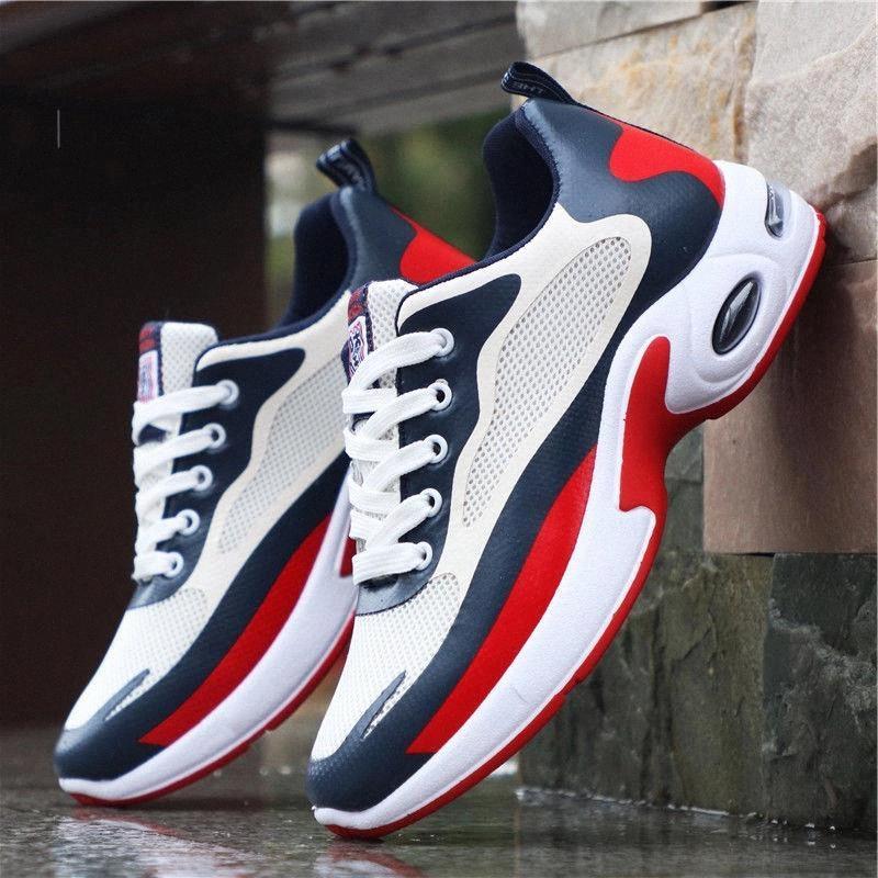Мужчины повседневные туфли сетки мужчин кроссовки дышащие на открытом воздухе прогулочная спортивная обувь для мужского начарка повседневная пузырежная обувь # NO7x