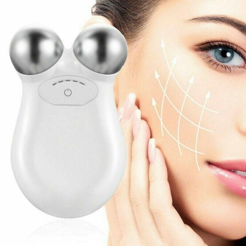 Máquina levantamiento de la piel de la cara de apriete tonificación Conjunto Microcorriente masajeador belleza facial antienvejecimiento Quitar arrugas de la cara del masaje del dispositivo