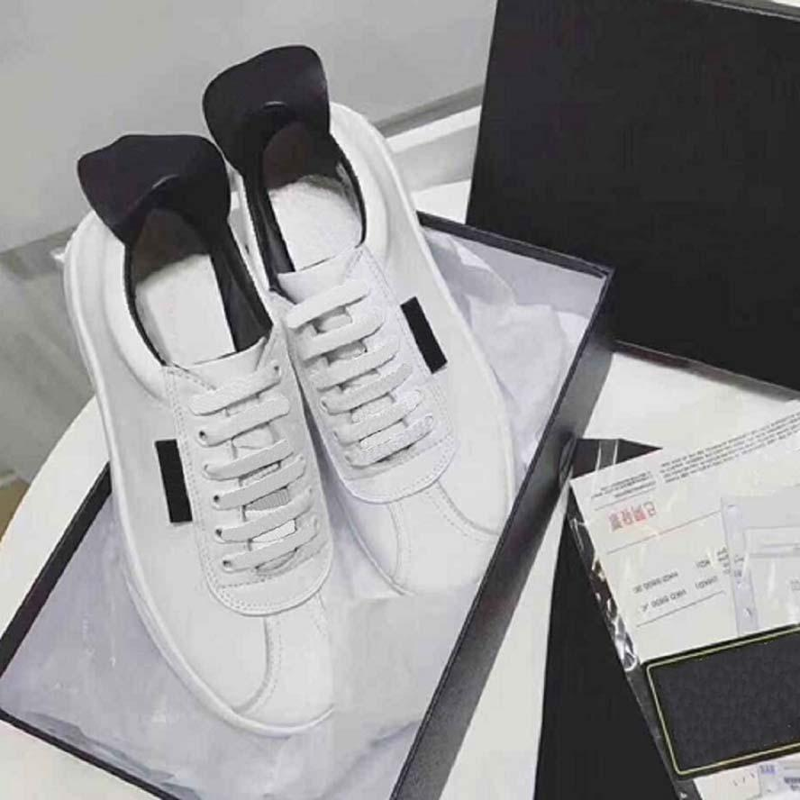 2020 Sıcak Satış üçlü kadın platformu spor ayakkabılar siyah beyaz Bred eğitmenler moda spor ayakkabı rahat ayakkabılar Açık 35-40 CH150 05