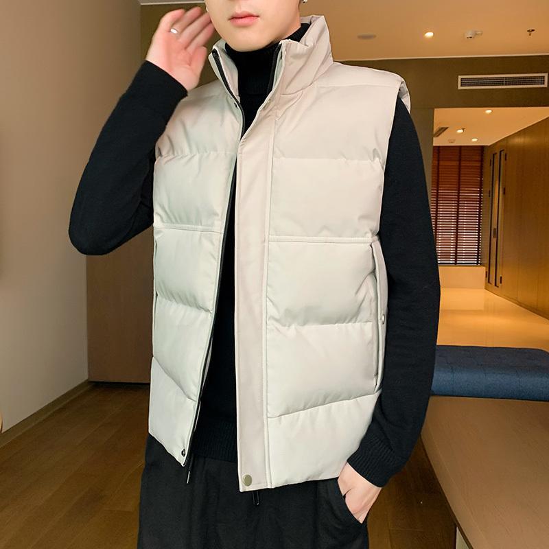 Мужские куртки Мужские пальто осень зима теплая Жилет 2020 Повседневный рукавов жилет куртки Мужская мода Жилеты Одежда