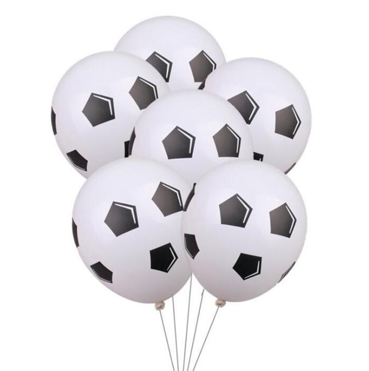 20pcs 12 Inch Thicken Soccer Balls Football Latex Balloons Birthday Party Decoration Kids Childrens Toys Football Theme Party sqcYzC