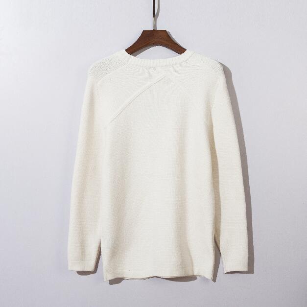 Heiße Männerfrauenmode Neue langärmelige Pullover mit hoher Erkennbarkeit Nacht Cursor Pullover Strickpullover Kostenloser Versand
