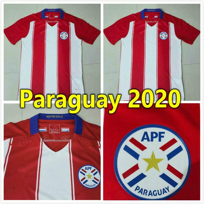 new 2020 Paraguay Soccer Jerseys 20 21 PLAYER VERSION Republic of Paraguay national team home away camiseta de fútbol men Football Shirt KIT