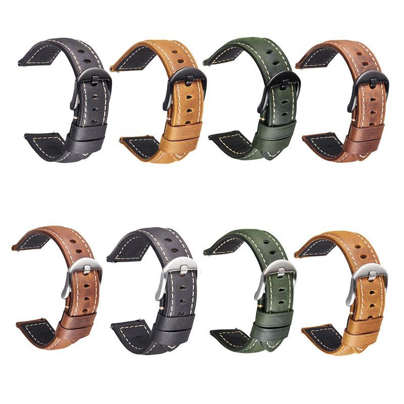 حزام جلد ل أبل ووتش باند 44 ملليمتر 40 ملليمتر 42 ملليمتر 38 ملليمتر ماتي ماتي خمر الجلود watchband كيريس بريسيت لسلسلة SE 6 5 4 3